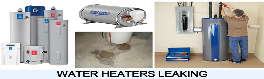 water heater leaking